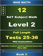Book C L-2 Tests 25-36