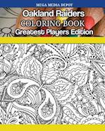 Oakland Raiders Coloring Book Greatest Players Edition
