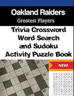 Oakland Raiders Trivia Crossword, Wordsearch and Sudoku Activity Puzzle Book