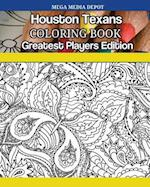 Houston Texans Coloring Book Greatest Players Edition
