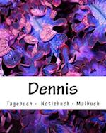 Dennis - Tagebuch - Notizbuch - Malbuch