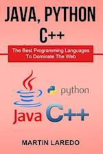 Java, Python, C++