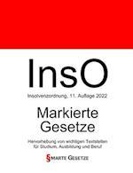 Inso, Insolvenzordnung, Smarte Gesetze, Markierte Gesetze