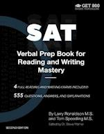 SAT Verbal Prep Book for Reading and Writing Mastery