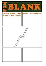 The Blank Comic Book Panelbook - Staggered, 7x10, 112 Pages
