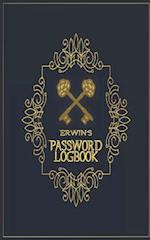 Erwin's Password Logbook