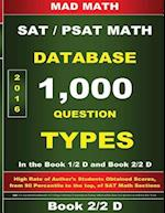 Book 2-2 D Redesigned SAT Math Database