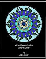 Unique Mandalas for Adults - Intermediate