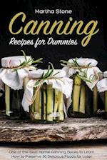 Canning Recipes for Dummies