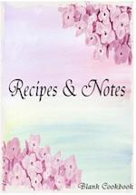 Blank Cookbook Recipe & Note (Recipe Note Series)