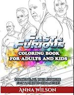 Fast & Furious Coloring Book for Adults and Kids