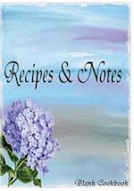 Blank Cookbook Recipe & Note (105 Recipe Blank Book Series #3)