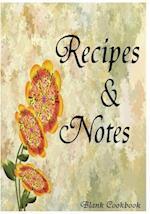 Blank Cookbook Recipe & Note (105 Recipe Blank Book Series #8)