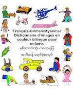 Francais/Birman (Myanmar) Dictionnaire D'Images En Couleur Bilingue Pour Enfants