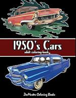 1950's Cars Adult Coloring Book