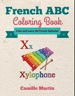 French ABC Coloring Book