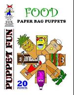 Food Paper Bag Puppets