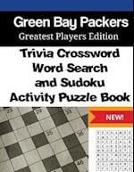 Green Bay Packers Trivia Crossword, Wordsearch and Sudoku Activity Puzzle Book
