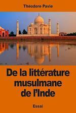 de La Litterature Musulmane de L'Inde