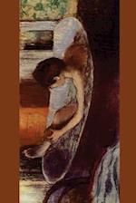 ''Woman in a Bath Sponging Her Leg'' by Edgar Degas