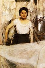 ''Woman Ironing'' by Edgar Degas - 1869
