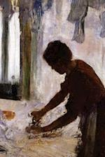 ''Woman Ironing Silhouette'' by Edgar Degas - 1873