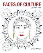 Faces of Culture Coloring Book
