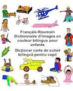 Francais-Roumain Dictionnaire D'Images En Couleur Bilingue Pour Enfants