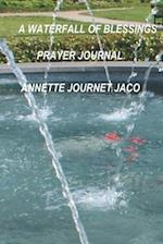 A Waterfall of Blessings Prayer Journal