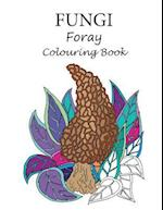 Fungi Foray Colouring Book
