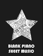 Blank Piano Sheet Music
