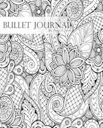 "Bullet Journal Notebook Dotted Grid, Graph Grid-Lined Paper, Large, 8""x10,""150 Pages"