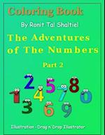Coloring Book - The Adventures of the Numbers af Ronit Tal Shaltiel