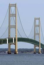 A Cool View of Historic Mackinac Suspension Bridge Michigan USA Journal