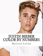 Justin Bieber Color by Numbers