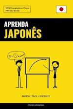 Aprenda Japones - Rapido / Facil / Eficiente