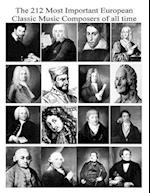 The 212 Most Important European Classic Music Composers of All Time