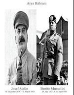 Josef Stalin Benito Mussolini