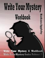 Write Your Mystery Workbook
