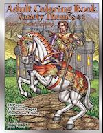Adult Coloring Book Variety Themes #3