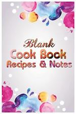Blank Cookbook Recipes & Notes