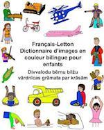 Francais-Letton Dictionnaire D'Images En Couleur Bilingue Pour Enfants