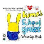 Luma's School Grades Colouring Book