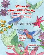 Where Hummingbirds Come from Bilingual Bengali English