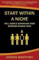 Start Within a Niche