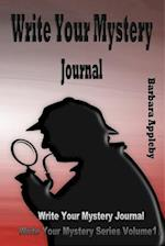 Write Your Mystery Journal