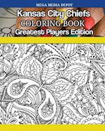 Kansas City Chiefs Coloring Book Greatest Players Edition