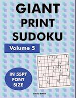 Giant Print Sudoku Volume 5
