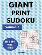 Giant Print Sudoku Volume 6