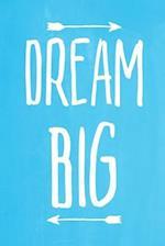 Pastel Chalkboard Journal - Dream Big (Light Blue)